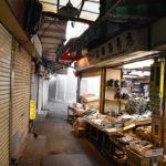 路地にある小さな千林の海苔専門店